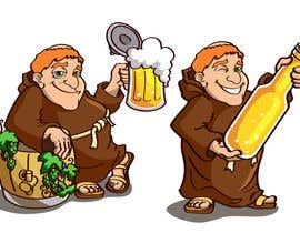 #27 for ILLUSTRATION / CARICATURE OF A MONK BREWER. by vectorpic