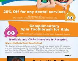 matula1978 tarafından Design a Flyer for Kids Dentistry -- 2 için no 20