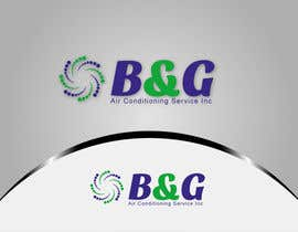 #44 untuk Design a Logo for B&G Air Conditioning Service Inc oleh woow7