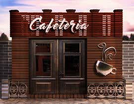 #2 para Restyle Coffe Shop with new front entrance design, Counter and Cashier. -- 2 por leocc