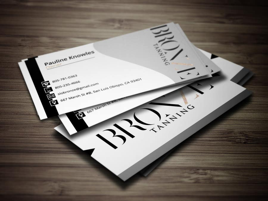 Entry #62 by GraphicHunter007 for Design some Business Cards for a ...