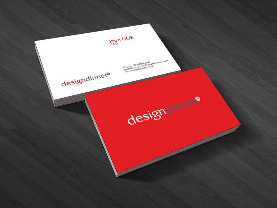 "#31 for Design eines Logos for  ""designdinner.de"" by iulian4d"