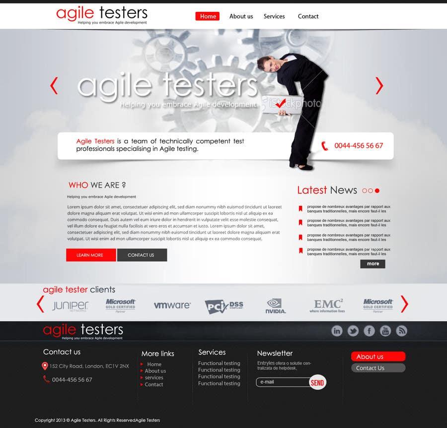 Inscrição nº 14 do Concurso para Redesign our company website