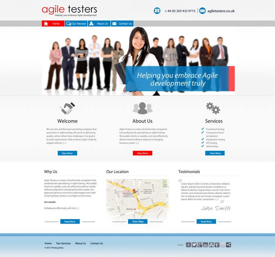 Inscrição nº 20 do Concurso para Redesign our company website