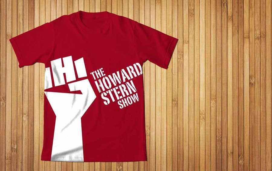 Proposition n°41 du concours Design a T-Shirt for The Howard Stern Show