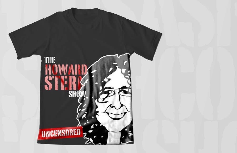 Proposition n°59 du concours Design a T-Shirt for The Howard Stern Show