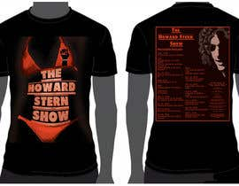 nº 49 pour Design a T-Shirt for The Howard Stern Show par Antn1169