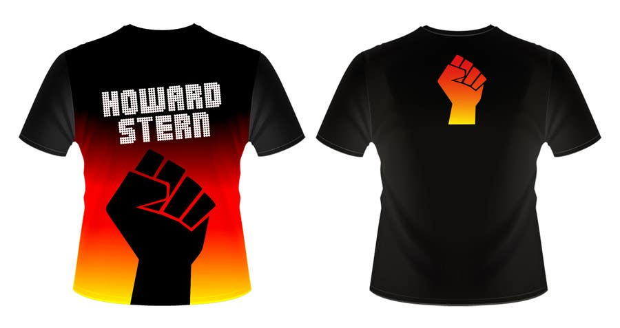 Proposition n°36 du concours Design a T-Shirt for The Howard Stern Show