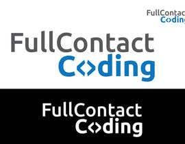 #2 para Design a logo for FullContactCoding.com por umamaheswararao3