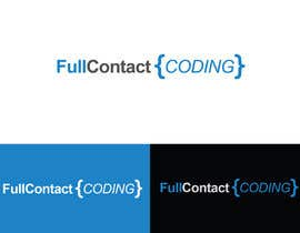 #9 for Design a logo for FullContactCoding.com by alexandracol