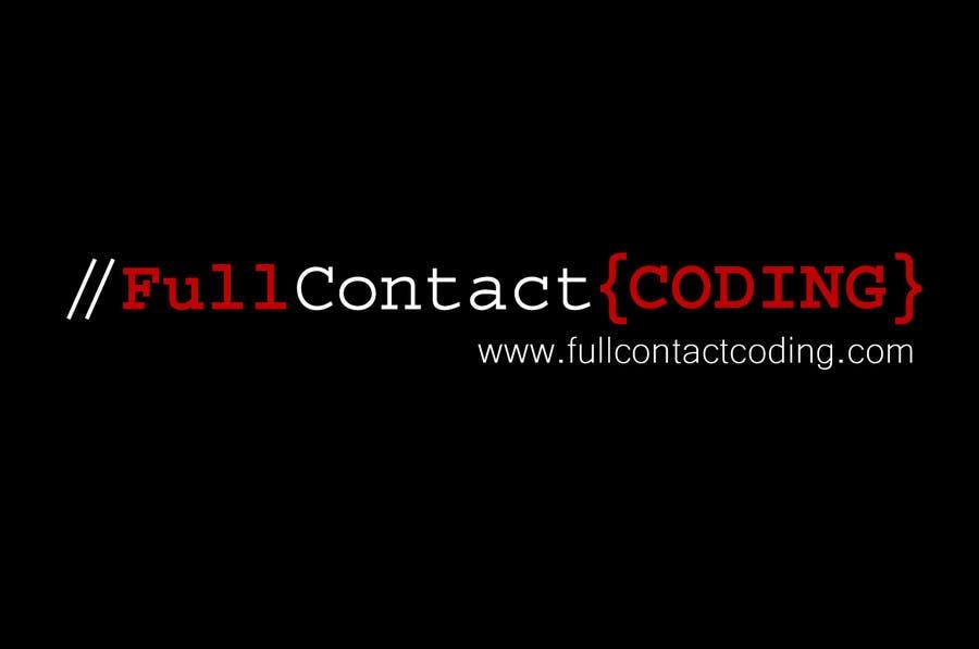 Contest Entry #32 for Design a logo for FullContactCoding.com