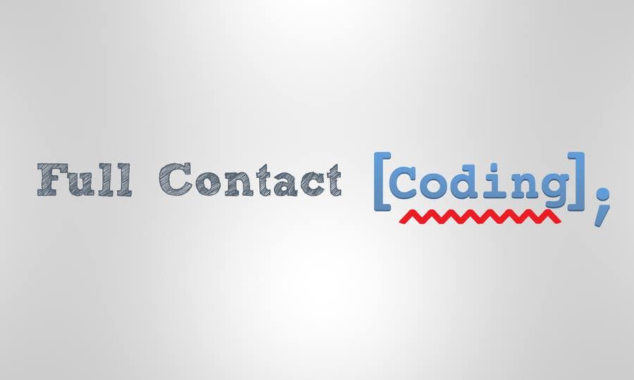 Contest Entry #5 for Design a logo for FullContactCoding.com