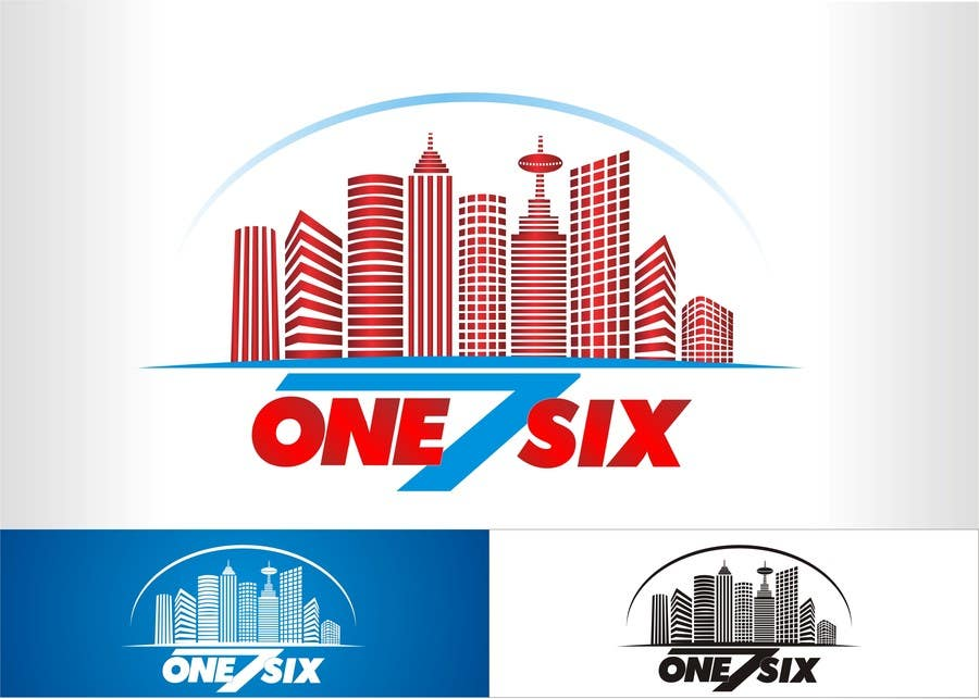Kilpailutyö #                                        93                                      kilpailussa                                         Design a Logo for one7six