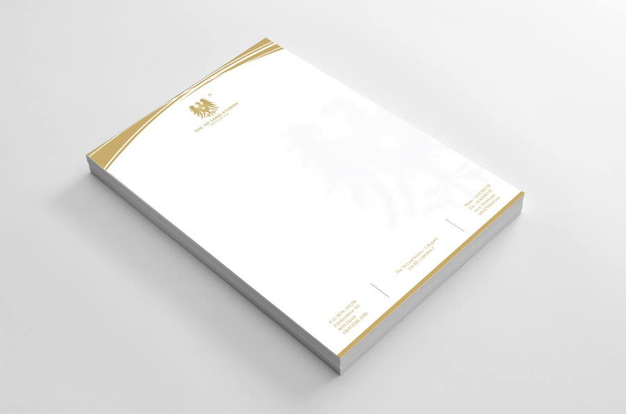 #6 for Letterhead paper for The 7th Lord Studios by LogoMass