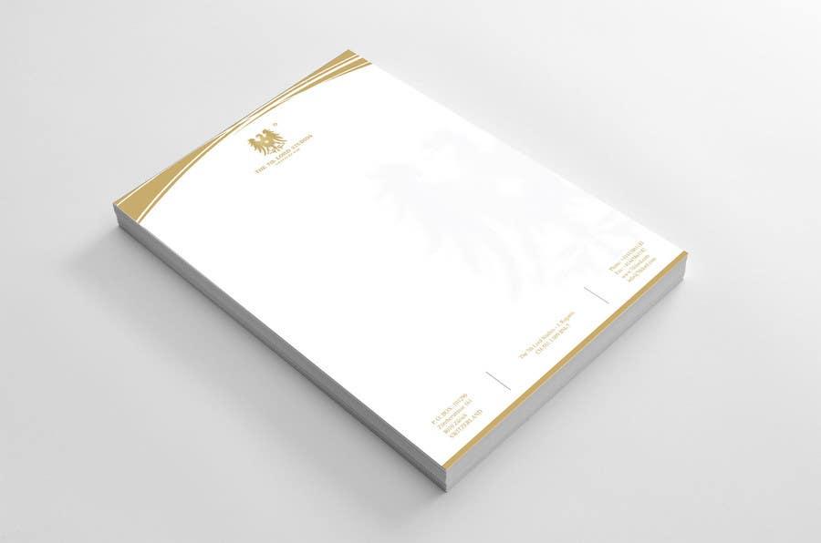 Kilpailutyö #6 kilpailussa Letterhead paper for The 7th Lord Studios