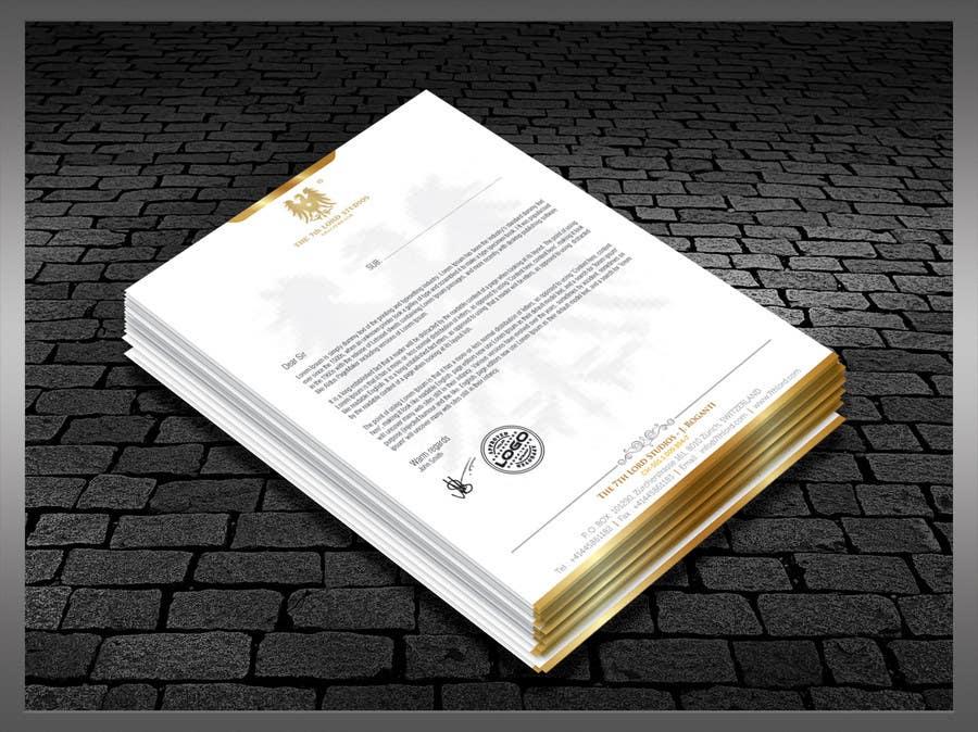 Kilpailutyö #41 kilpailussa Letterhead paper for The 7th Lord Studios