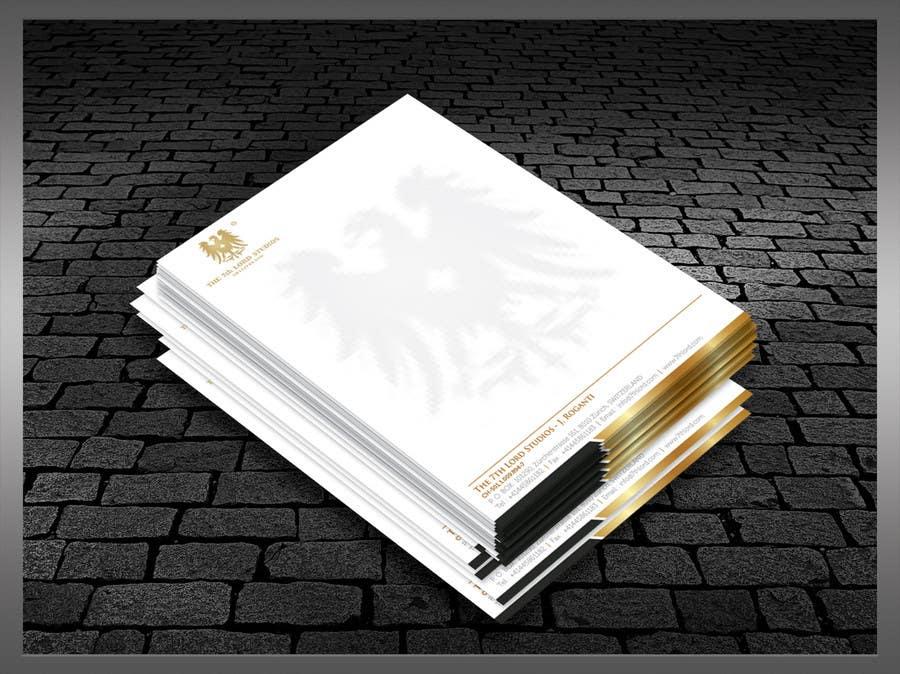 Kilpailutyö #42 kilpailussa Letterhead paper for The 7th Lord Studios