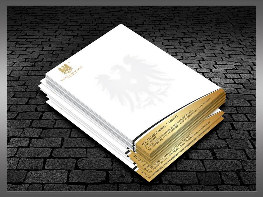 Kilpailutyö #43 kilpailussa Letterhead paper for The 7th Lord Studios
