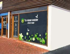 nº 44 pour I need some Graphic Design for shop front window of Eco Dental Surgery par jamshaidrazaCG