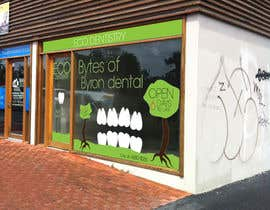 nº 41 pour I need some Graphic Design for shop front window of Eco Dental Surgery par PF0ne