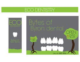 #42 for I need some Graphic Design for shop front window of Eco Dental Surgery af PF0ne