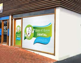 nº 12 pour I need some Graphic Design for shop front window of Eco Dental Surgery par Surafreelancer