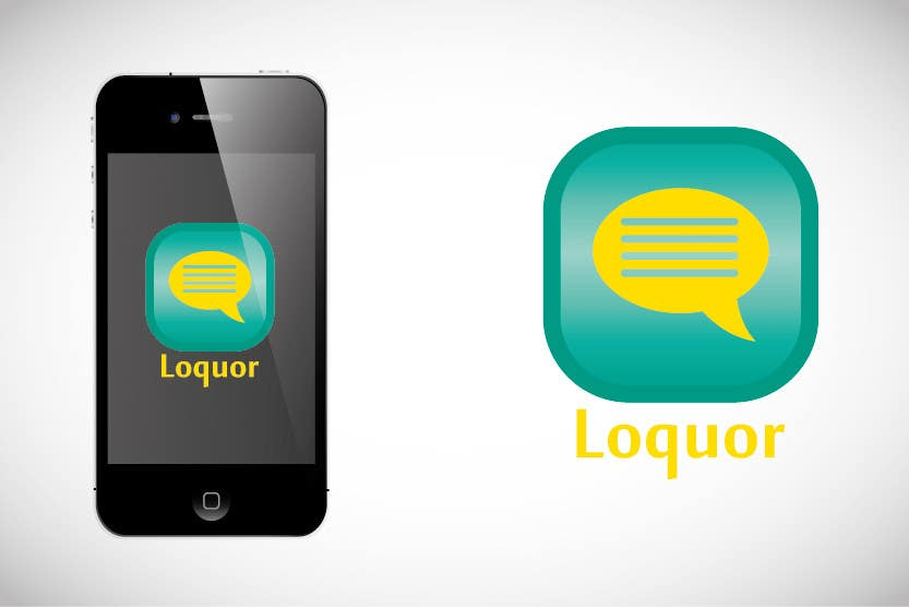 "#12 for Design a Logo for a mobile application ""Loquor"" by Arts360"