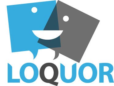 "#30 for Design a Logo for a mobile application ""Loquor"" by crystaleyes54"