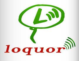 "#70 para Design a Logo for a mobile application ""Loquor"" por Ssanam01"