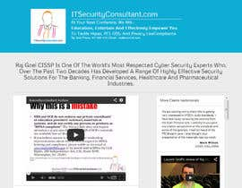 nº 12 pour Build a Website for ITSecurityConsultant.com par dikigunawan