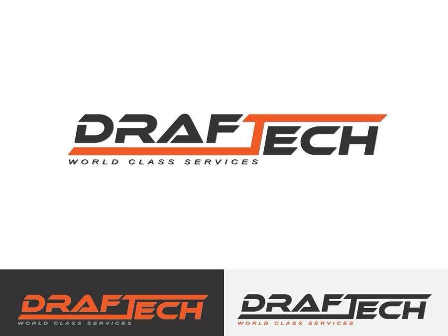 #103 for Design a Logo for Draftech by Kkeroll
