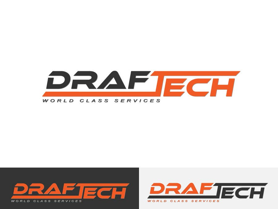 #105 for Design a Logo for Draftech by Kkeroll