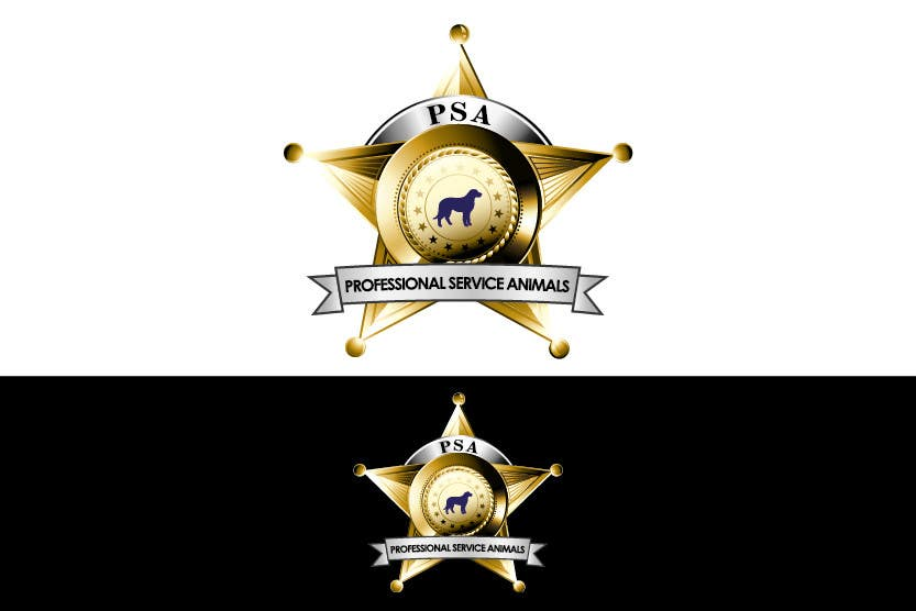 Bài tham dự cuộc thi #                                        30                                      cho                                         Design a Logo for PSA (Professional Service Animals)