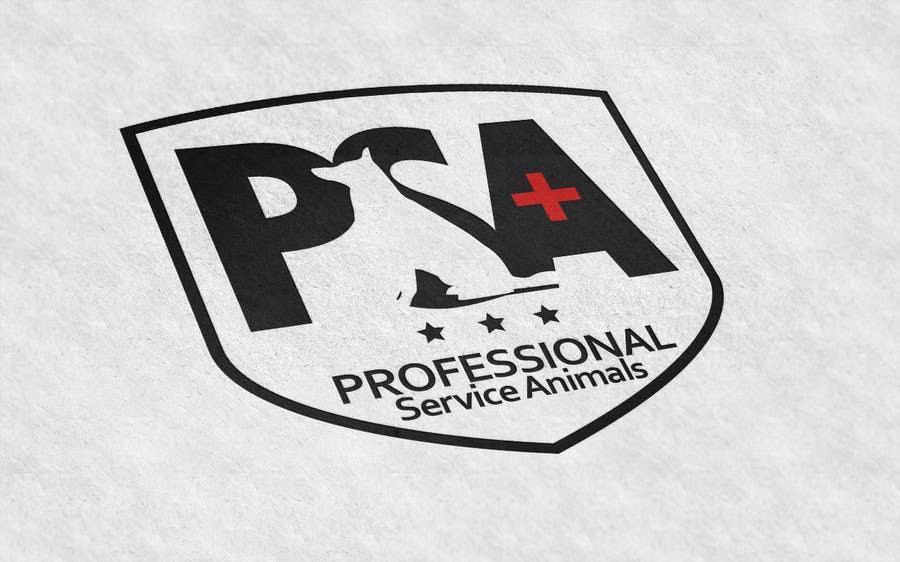 Bài tham dự cuộc thi #                                        32                                      cho                                         Design a Logo for PSA (Professional Service Animals)