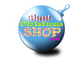 #45 for Design a Logo for That Christmas Shop.com af SandiponCho