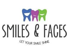 #85 untuk Design a Logo for Smiles & Faces Orthodontics oleh DandelionLab