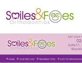 #79 untuk Design a Logo for Smiles & Faces Orthodontics oleh suneshthakkar