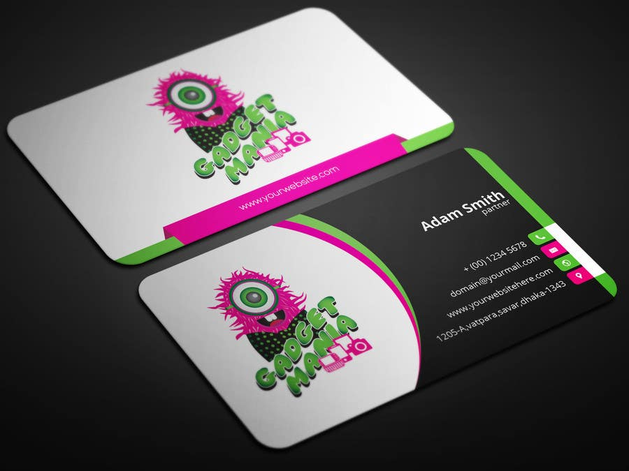 Entry 4 by smartghart for design boutique catchy business card business card colourmoves