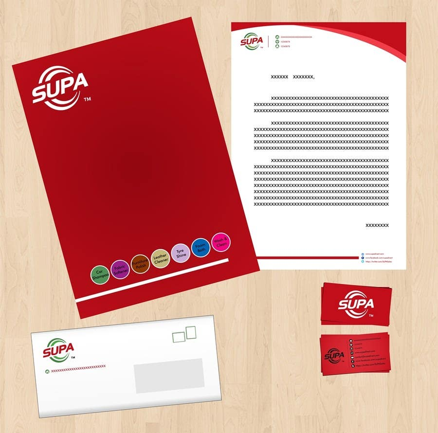 #10 for Develop a Corporate Identity for SUPA brand by danapopa88