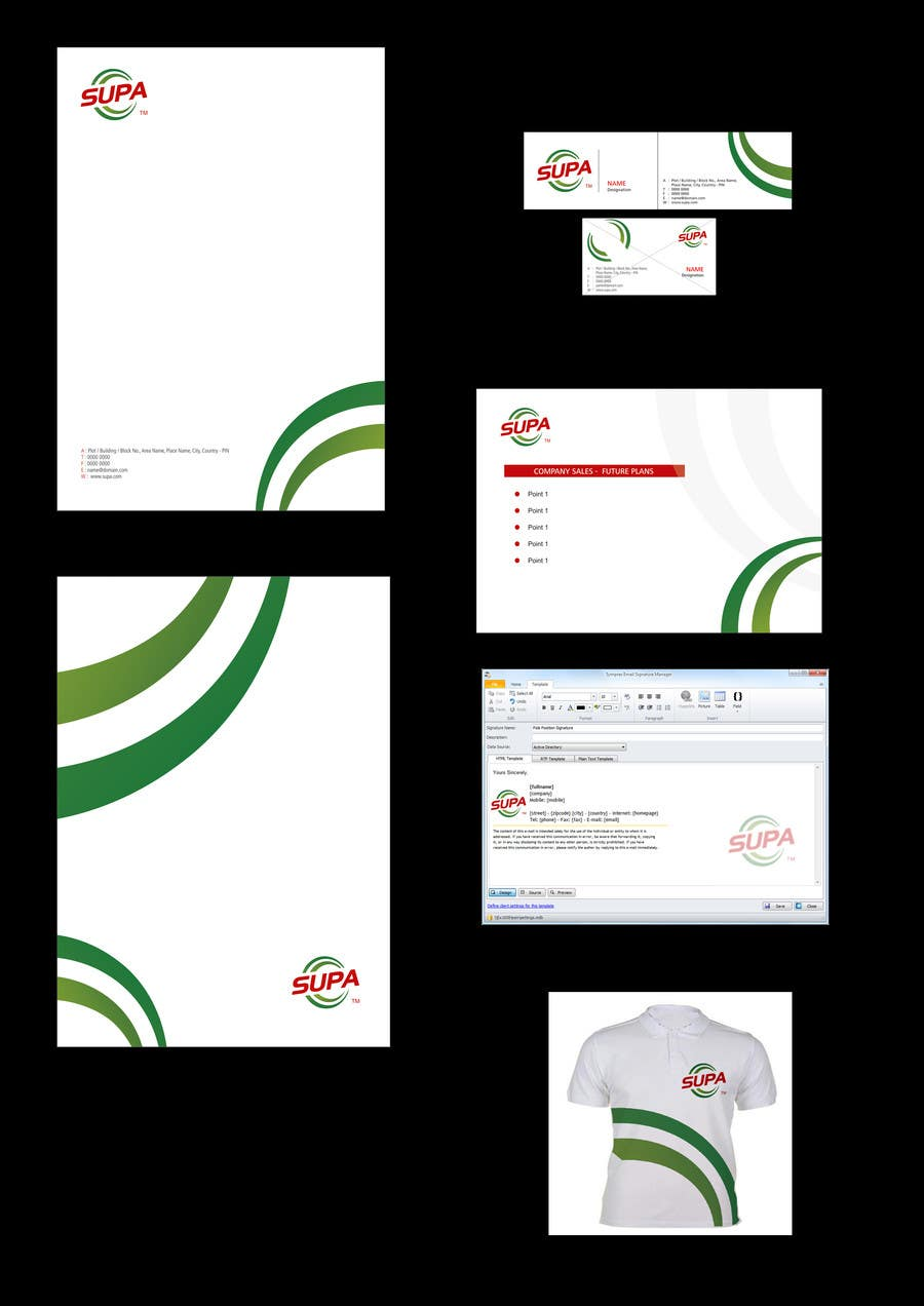 #5 for Develop a Corporate Identity for SUPA brand by raidcreatives