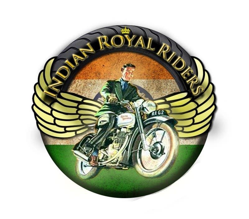 Bài tham dự cuộc thi #                                        12                                      cho                                         Design a Logo for Indianroyalriders.com