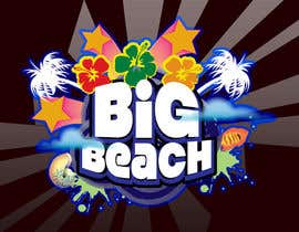 #54 para Logo Design for Big Beach por graphicmaestro