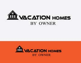 "#53 untuk Logo design ""vacation homes by owner"" oleh polashrockz"