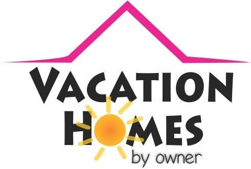 """Bài tham dự cuộc thi #81 cho Logo design """"vacation homes by owner"""""""