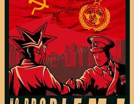 #5 for Design a Communist-Style Propaganda Poster af akgallentes