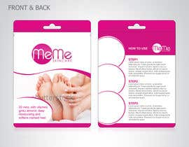 #3 para Create Packaging Designs for foot treatment pouch por spenky