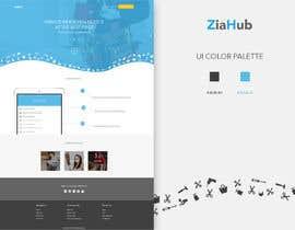 Nro 13 kilpailuun ZiaHub.com UI overhaul käyttäjältä arispapapro