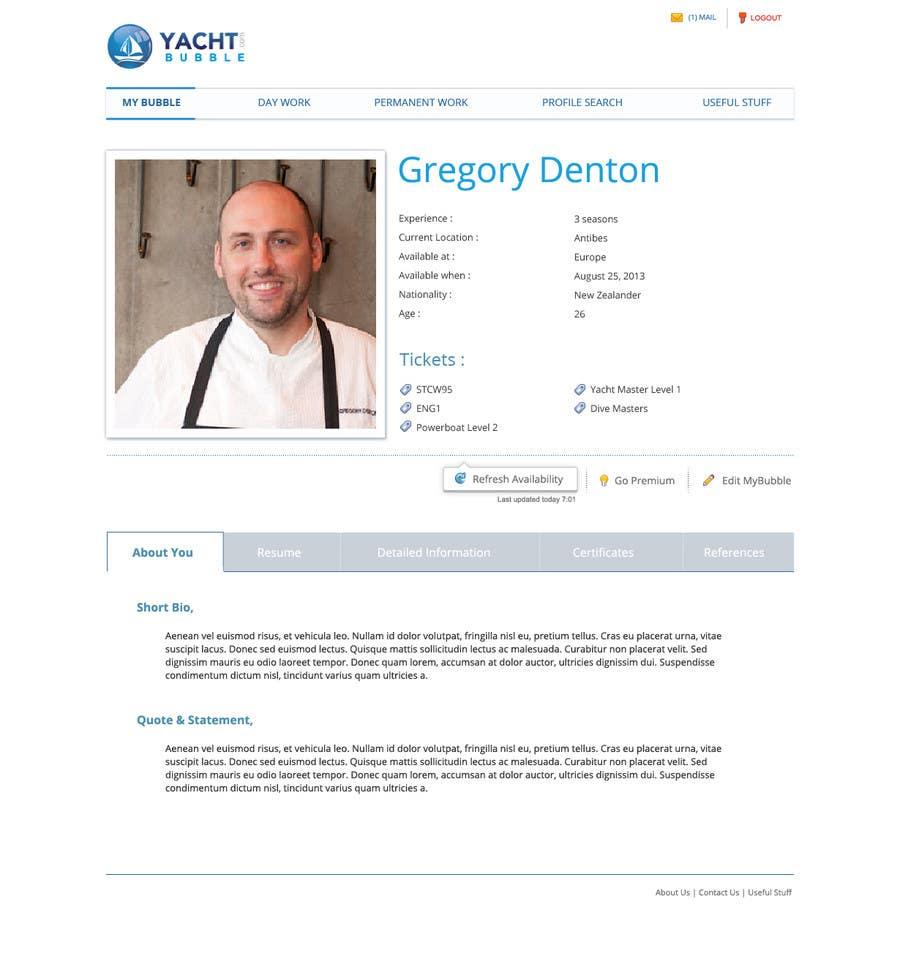 Inscrição nº 28 do Concurso para Design a webpage