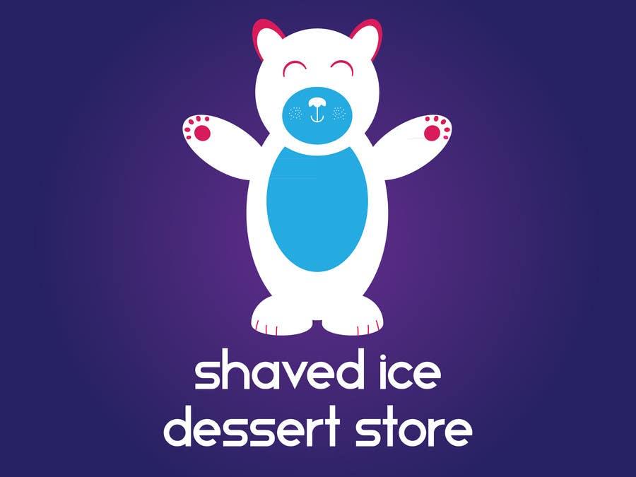 Bài tham dự cuộc thi #                                        50                                      cho                                         Design a Logo for shaved ice dessert store