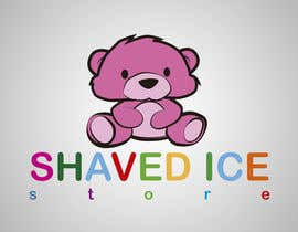 #48 para Design a Logo for shaved ice dessert store por thenomobs